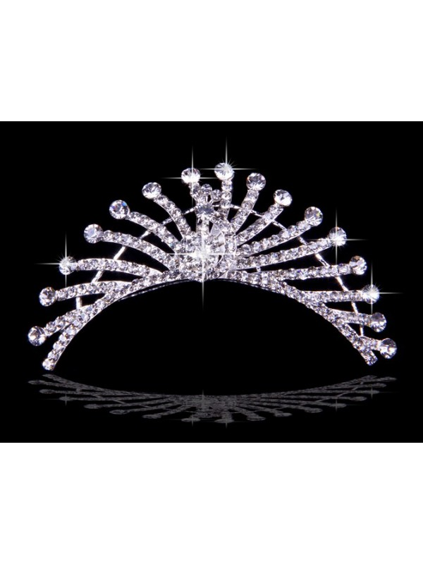 Unique Czech Rhinestones Wedding Headpieces